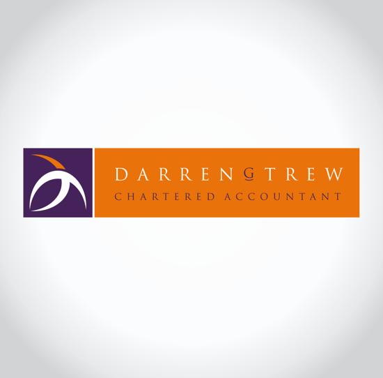 Darren Trew Chartered Accountant Logo Design