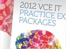 VITTA 2012 VCE IT Practice Exam Packages Flyer