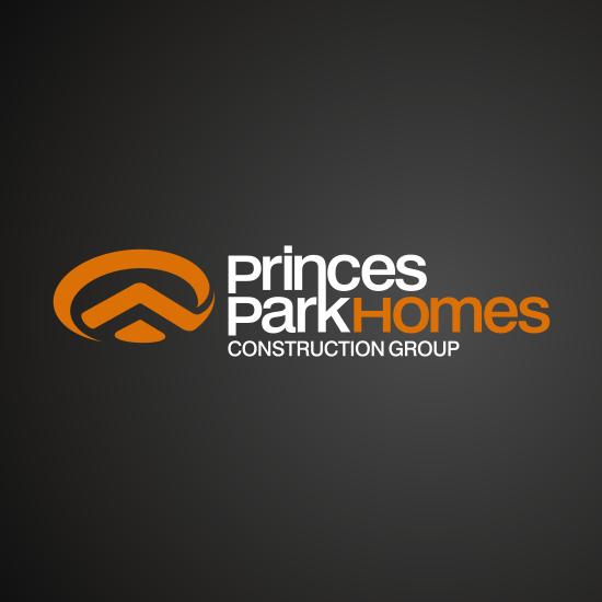 Princes Park Homes Logo Design