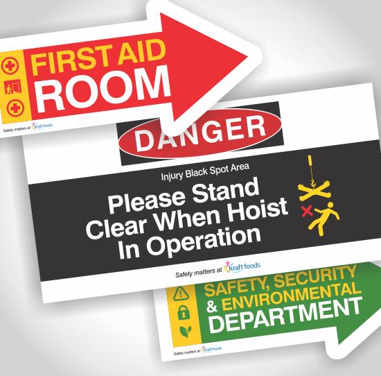 Kraft Custom Floor Signage