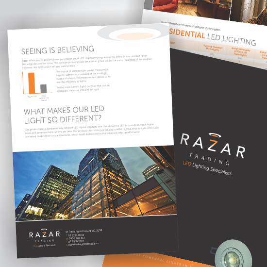 Razar LED Lighting Brochure