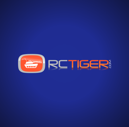 RC Tiger Logo Design