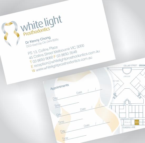 White Light Prosthodontics Corporate Identity
