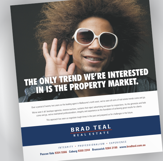 Brad Teal Newspaper Advertisement