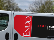 Endo Commercial Furniture Vehicle Signage