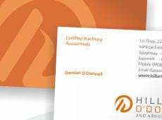 Hillard O'Donnell Corporate Identity