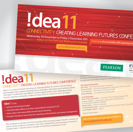 !dea11 Conference Flyer