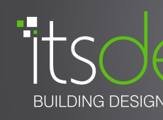 ITS Building Design Logo Design